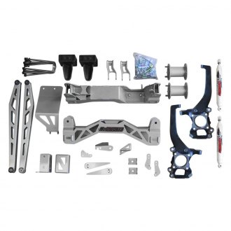 "McGaughy's® - 6.5"" Basic Front and Rear Suspension Lift Kit"