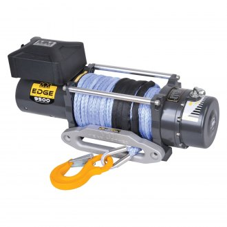 Mean Mother® - 9500 lbs Edge Series Electric Winch with Synthetic Rope