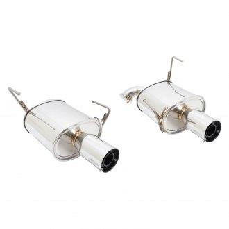 Megan Racing® - Stainless Steel Axle-Back Exhaust System