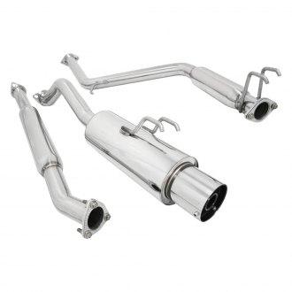 Megan Racing® - Stainless Steel Cat-Back Exhaust System with Single Rear Exit