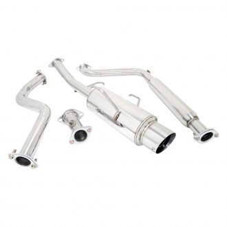 Megan Racing® - Stainless Steel Cat-Back Exhaust System