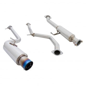 Megan Racing® - Drift-Spec Stainless Steel Cat-Back Exhaust System with Single Rear Exit