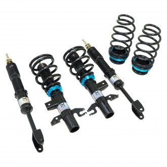 "Megan Racing® - 0""-3"" x 0""-3"" EZ Street Series Front and Rear Lowering Coilover Kit"