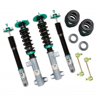 "Megan Racing® - 0""-3"" x 0""-3"" Euro II Series Front and Rear Lowering Coilover Kit"