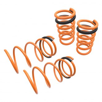"Megan Racing® - 1.14"" x 0.9"" Front and Rear Lowering Coil Springs"