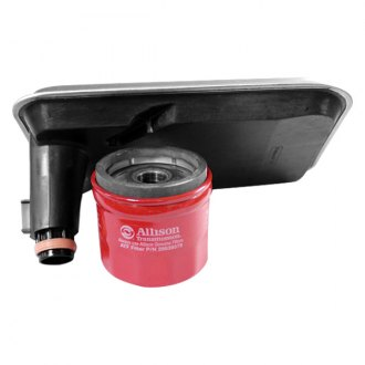 Merchant Automotive® - Allison 1000 Internal Filter and Spin on Combo with Shallow Pan