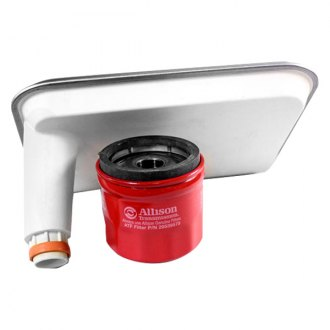 Merchant Automotive® - Allison 1000 Internal Filter and Spin on Combo with Deep Pan
