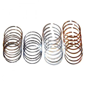 Merchant Automotive® - Gapless Piston Rings, Standard Bore, OEM Pistons
