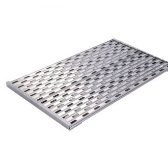 "Merritt Equipment® - 37-1/2""L x 33-1/4""W Top Mount Dyna-Deck Modular Deck Cover"