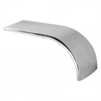 Merritt Aluminum® - Rear Half Tandem Fender Single Radius