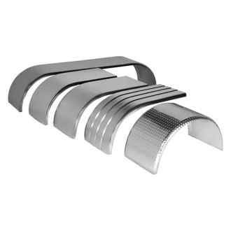 Merritt Aluminum® - Rear Full Tandem Fenders Single Radius