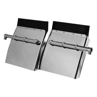Merritt Aluminum® - Rear Driver and Passenger Side Quarter Fenders