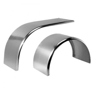 Merritt Aluminum® - Rear Single Axle Fenders Full Radius Wrap