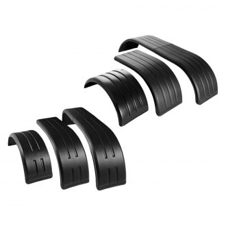 Merritt Aluminum® - Poly-Pro™ Rear Super Single Tire Half Tandem Fenders