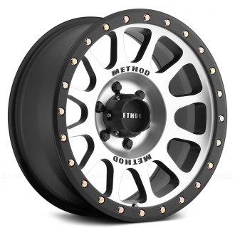 METHOD RACE® - 305 NV Matte Black with Machined Face