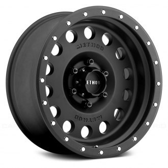 METHOD RACE WHEELS® - 307 HOLE Matte Black