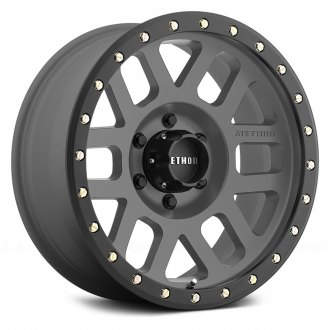 METHOD RACE® - 309 GRID Titanium with Matte Black Lip
