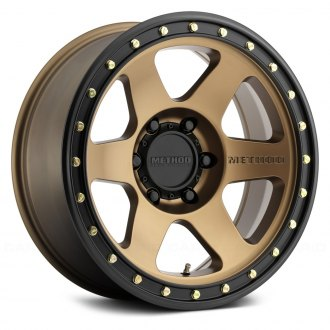 METHOD RACE® - 310 CON6 Bronze with Matte Black Lip