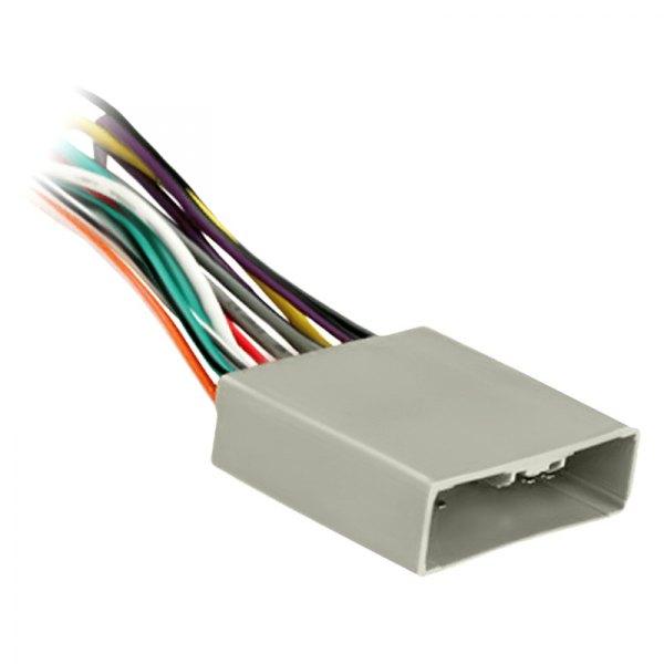 Radio Wiring Harness Metra : Metra honda civic aftermarket radio wiring harness