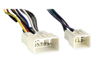 Metra toyota avalon aftermarket radio wiring harness with