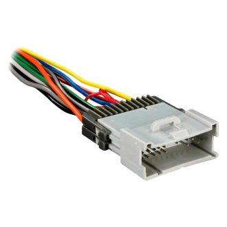 metra® - saturn ion 2004 aftermarket radio wiring harness with oem plug and  amplifier integration  carid.com