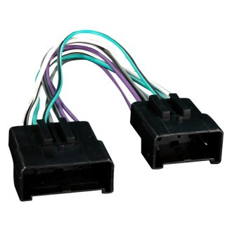 Metra® - Aftermarket Radio Wiring Harness with OEM Plug, Amplifier Bypass and Eliminator Plug
