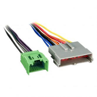 Metra® - Aftermarket Radio Wiring Harness with OEM Plug and Amplifier Integration