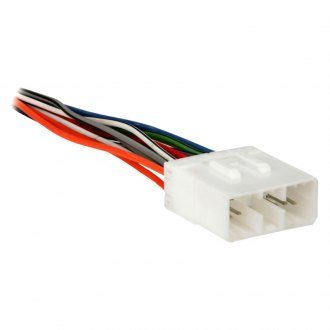 Metra® - Aftermarket Radio Wiring Harness with OEM Plug and Amplifier Bypass