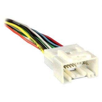 2016 mitsubishi outlander sport oe wiring harnesses stereo metra® aftermarket radio wiring harness oem plug