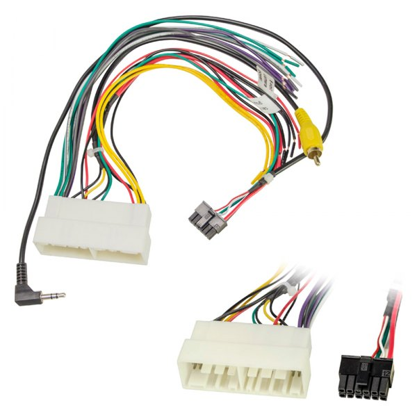 Metra® 70-7306 - Aftermarket Radio Wiring Harness with OEM Plug on