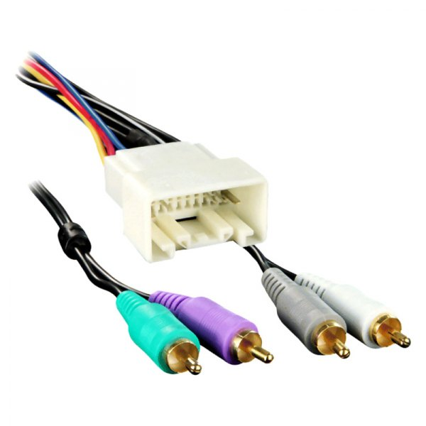 Metra® 70-8113 - Aftermarket Radio Wiring Harness with OEM ...