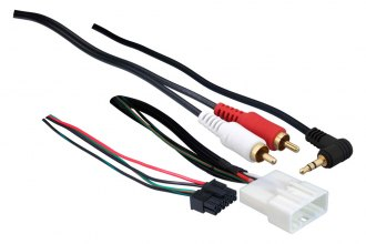 Metra® - Aftermarket Radio Wiring Harness with OEM Plug and Retention Steering Wheel Controls