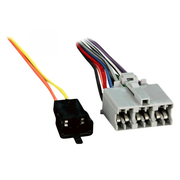 Metra Wiring Harness For Oem Radio : Metra  factory replacement wiring harness with