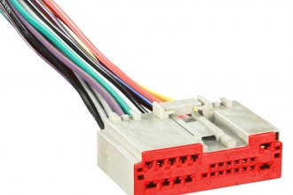 Metra® - Factory Replacement Wiring Harness with OEM Radio Plug and Plug for Charger and Auxliary