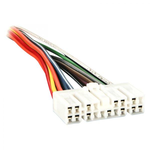 Radio Wiring Harness Metra : Metra isuzu rodeo factory replacement wiring