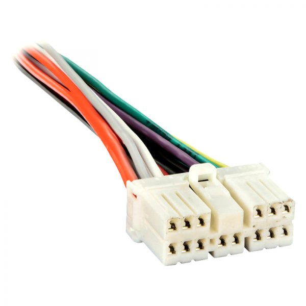 Metra® - Factory Replacement Wiring Harness with OEM Radio Plug on hitachi harness, tein harness, nismo harness,