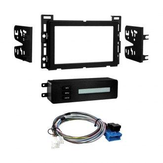 Metra Double Din Matte Black Stereo Dash Kit Retains Drivers Information Center