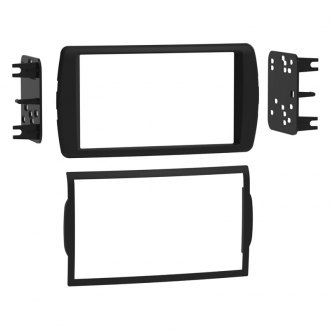 Metra Double Din Black Stereo Dash Kit