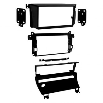 Metra® - Double DIN Matte Black Stereo Dash Kit