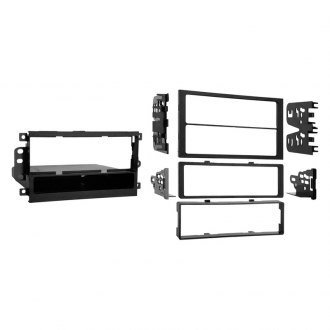 Metra® - Single/Double DIN Black Stereo Dash Multi Kit