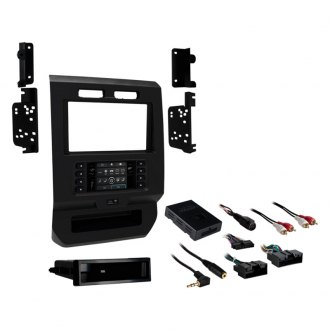 Metra® - Single/Double DIN Charcoal Stereo Dash Kit
