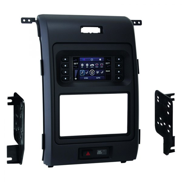 metra ford f 150 2014 single double din stereo dash kit. Black Bedroom Furniture Sets. Home Design Ideas