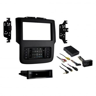 Metra® - Single/Double DIN Matte Black Stereo Dash Kit