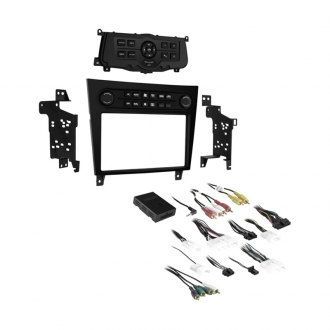 Metra Single Double Din Black Stereo Dash Kit