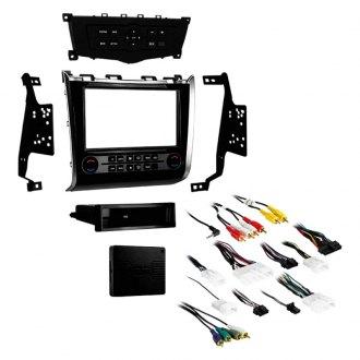metra� - single/double din high gloss black stereo dash kit