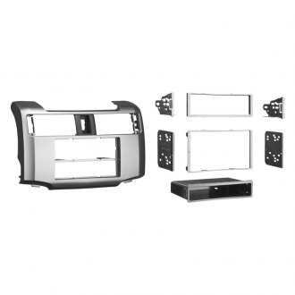 Metra® - Single/Double DIN Silver Stereo Dash Kit