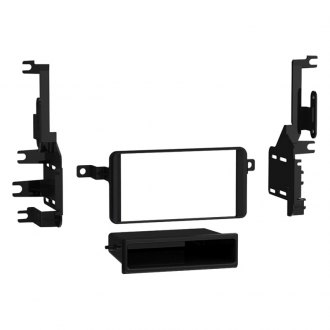 Metra® - Single/Double DIN Black Stereo Dash Kit