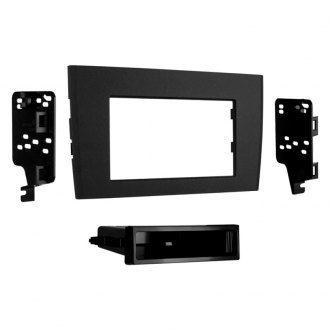 Metra® - Single/Double DIN Black Stereo Dash Kit with Pocket