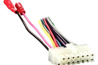 cl16 0001_8 metra� cl16 0001 16 pin wiring harness with aftermarket stereo  at n-0.co