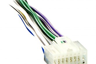 Metra® EC2X8-0001 - 16-pin Wiring Harness with Aftermarket Stereo on eclipse engine diagram, 2001 eclipse wiring diagram, eclipse power steering, eclipse alternator diagram, eclipse door diagram, eclipse transmission diagram, eclipse radio system, mitsubishi eclipse wiring diagram,